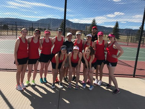 Congrats to the Girls Tennis Team!