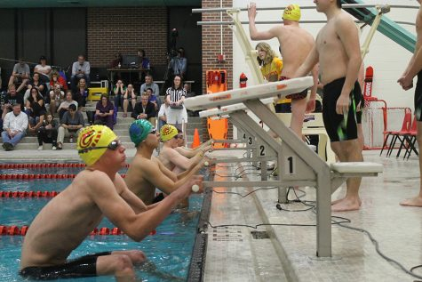 First Home Meet Goes Swimmingly