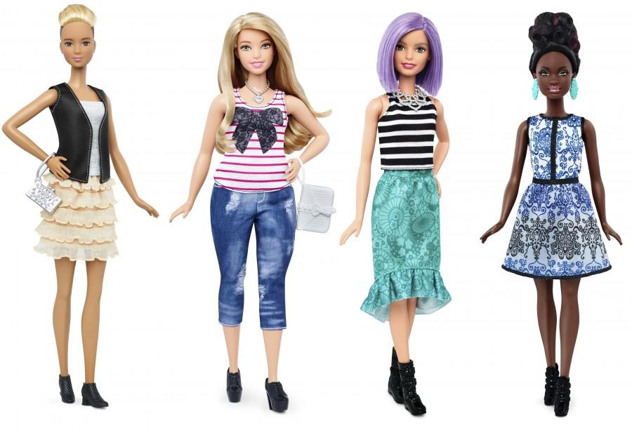 New+Barbie+doll+body+shapes+of+tall+%28L%29%2C+curvy+%282nd+L%29+and+petite+%28R%29+are+seen+next+to+the+traditional+Barbie+%282nd+R%29+in+this+image+released+by+Mattel+on+January+28%2C+2016.+++REUTERS%2FMattel%2FHandout+via+Reuters
