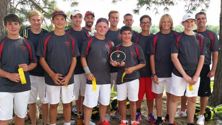 Tennis Takes Third at First Tournament