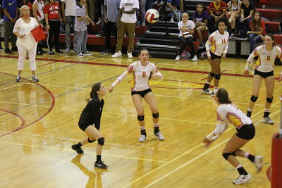 Cougar Volleyball Swept by Cheyenne Mountain