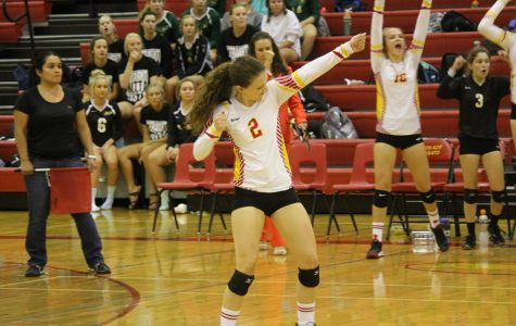 Cougar Volleyball Falls to Rampart in Four