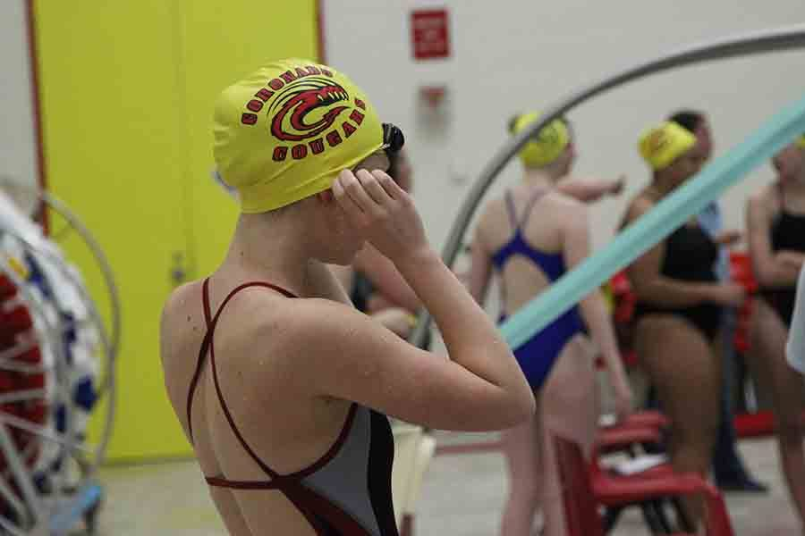 The Cougar Dailys first Athlete in the Spotlight is sophomore swimmer Mia Schaeffer (pictured).
