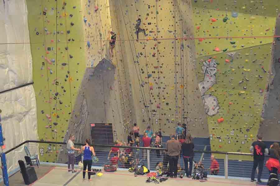 The Coronado Climbing team