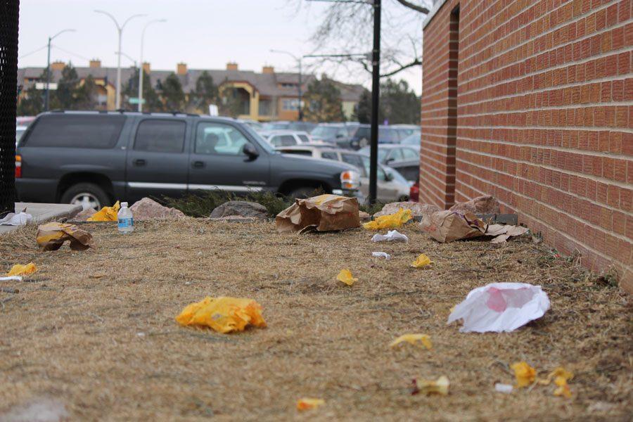 McDonalds Happy Meals litter Coronado's campus.