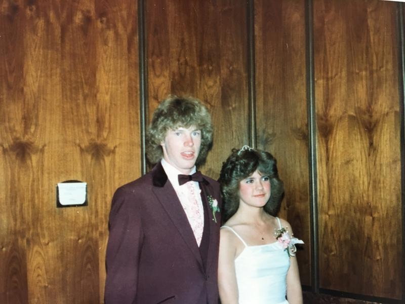 Our very own Mr. Christensen and Ms. Megyeri were the Coronado Prom King and Queen back in 1983.