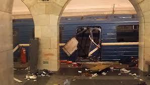 Saint Petersburg Train Explosion
