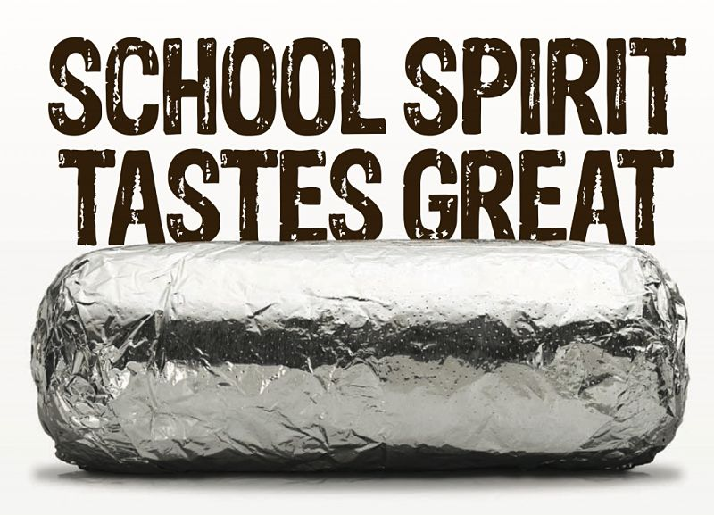 Support Coronado athletics at Chipotle on 8/25!