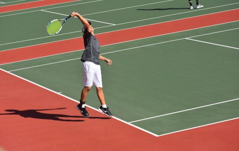 Cougars Trounce Terrors in Tennis