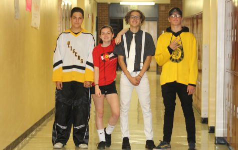 "Students ""Defy Gravity"" for Spirit Week"