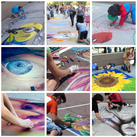 Chalk It Up Challenge at the What If Festival