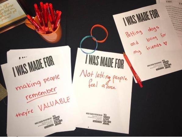 Día Mundial para la Prevención del Suicidio - Hecho Posible por Estudiantes de Coronado