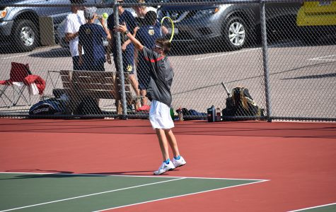 Tennis Team Stays Sharp in Preparation for Regionals