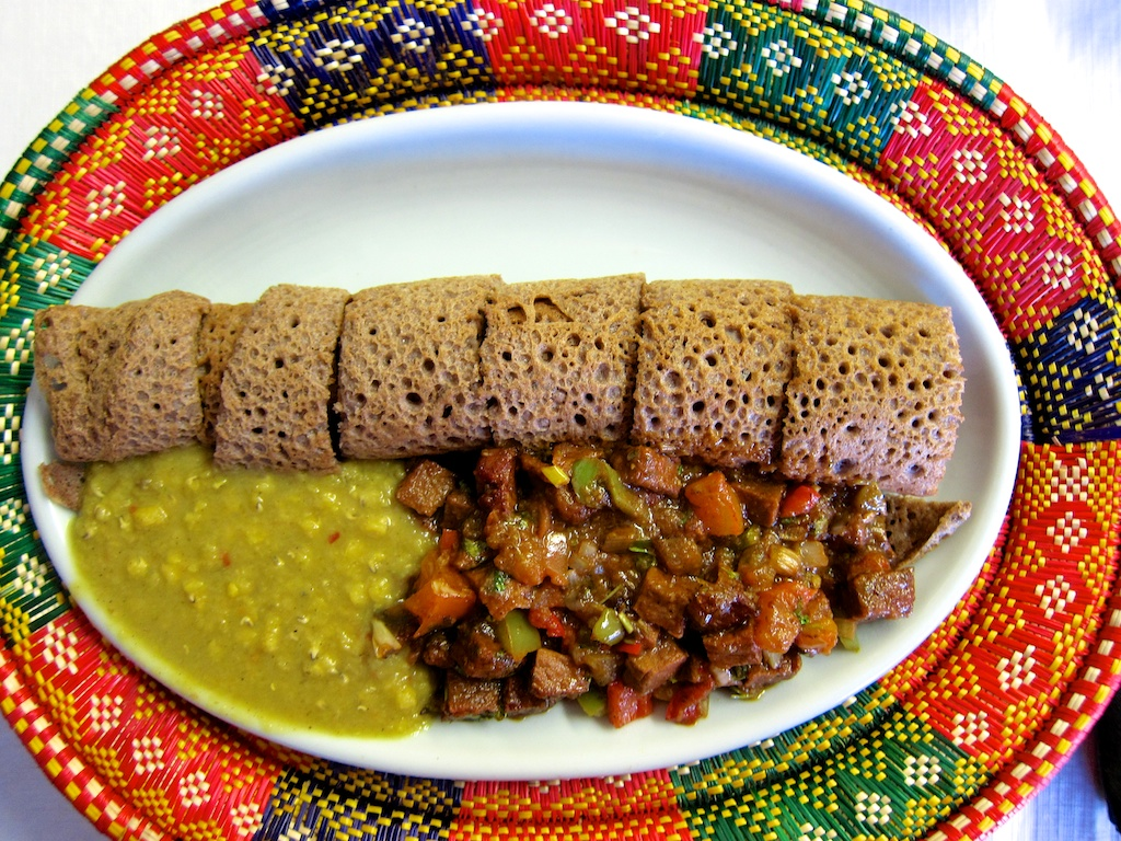 One of the many fabulous dishes that can be found at Uchenna Ethiopian Restaurant!