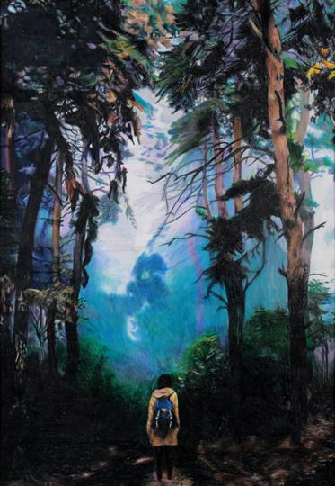 Jasmin Kuykendall's piece 'In The Fog'
