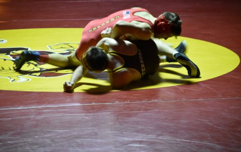 Boys Wrestling Pins Palmer