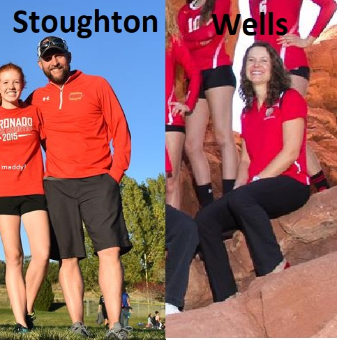 Stoughton and Wells, 2017-2018 Coaches of the Year!