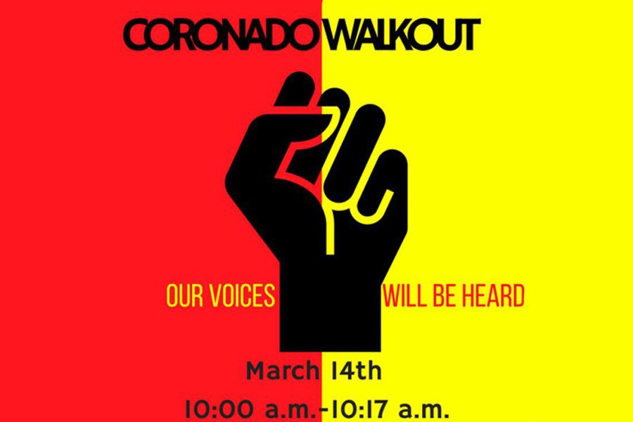 Coronado+Students+Plan+a+Walkout