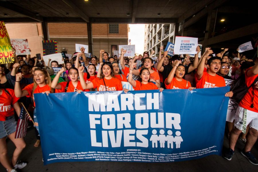 March For Our Lives marches took place all across the country on 3/24. (Photo Credit: The Prospector)