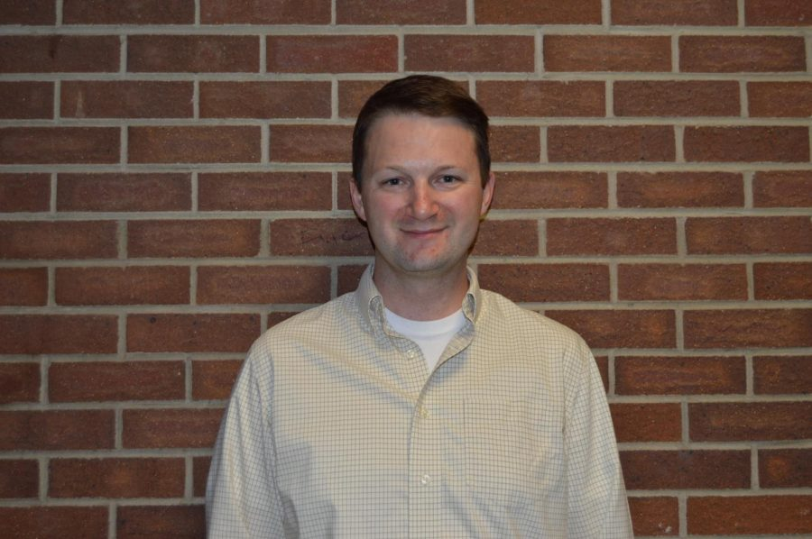 Mr. Perkins is one of three new science teachers this year!  He teaches chem and bio.  If you are lucky, you might end up in his class!