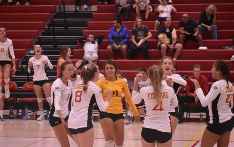 Cougars Take Down Air Academy in 5-set Thriller!