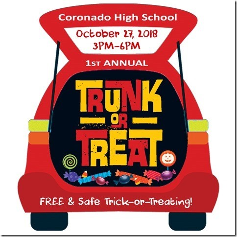 An Event to Die For: Coronado's First Trunk or Treat