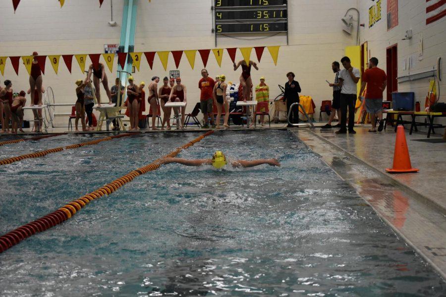 Girls Swimming Makes a Splash at State