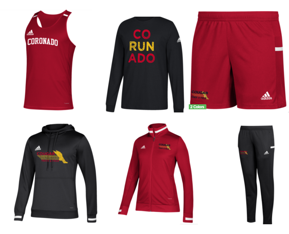 This is just a small sample of the gear that is available for purchase!