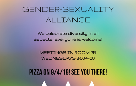 Gender-Sexuality Alliance- Come Find New Friends!