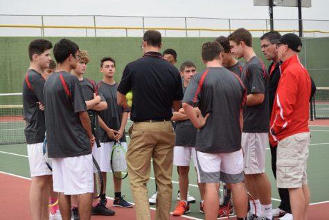 Tennis Team Going to Regionals!