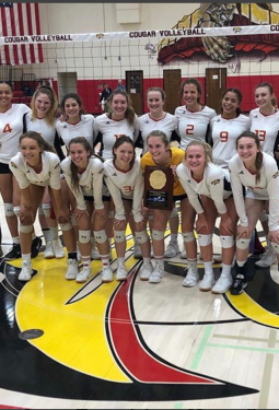 Volleyball Ranked Sixth in State and Killing it at Regionals!