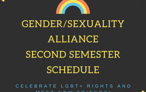 Gender/Sexuality Alliance Schedule Changes