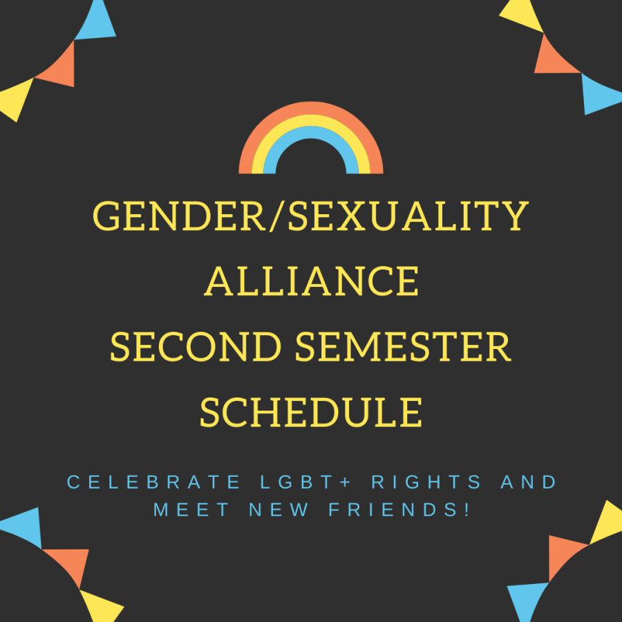 Gender%2FSexuality+Alliance+Schedule+Changes