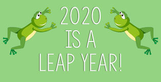 Look at the Calendar, It's a Leap Year!