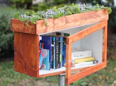 Outdoor Book Nooks: Check Them Out!