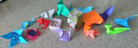 Join the Fold; Coronado's Origami Club